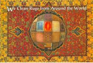 We clean rugs from around the world.